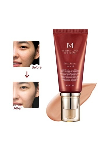 Missha M Perfect Cover Bb Cream No: 27 Bej